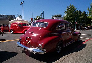 Oldsmobile Series 60 - 1941 Oldsmobile Special 66 or 68 2-door Sedan rear