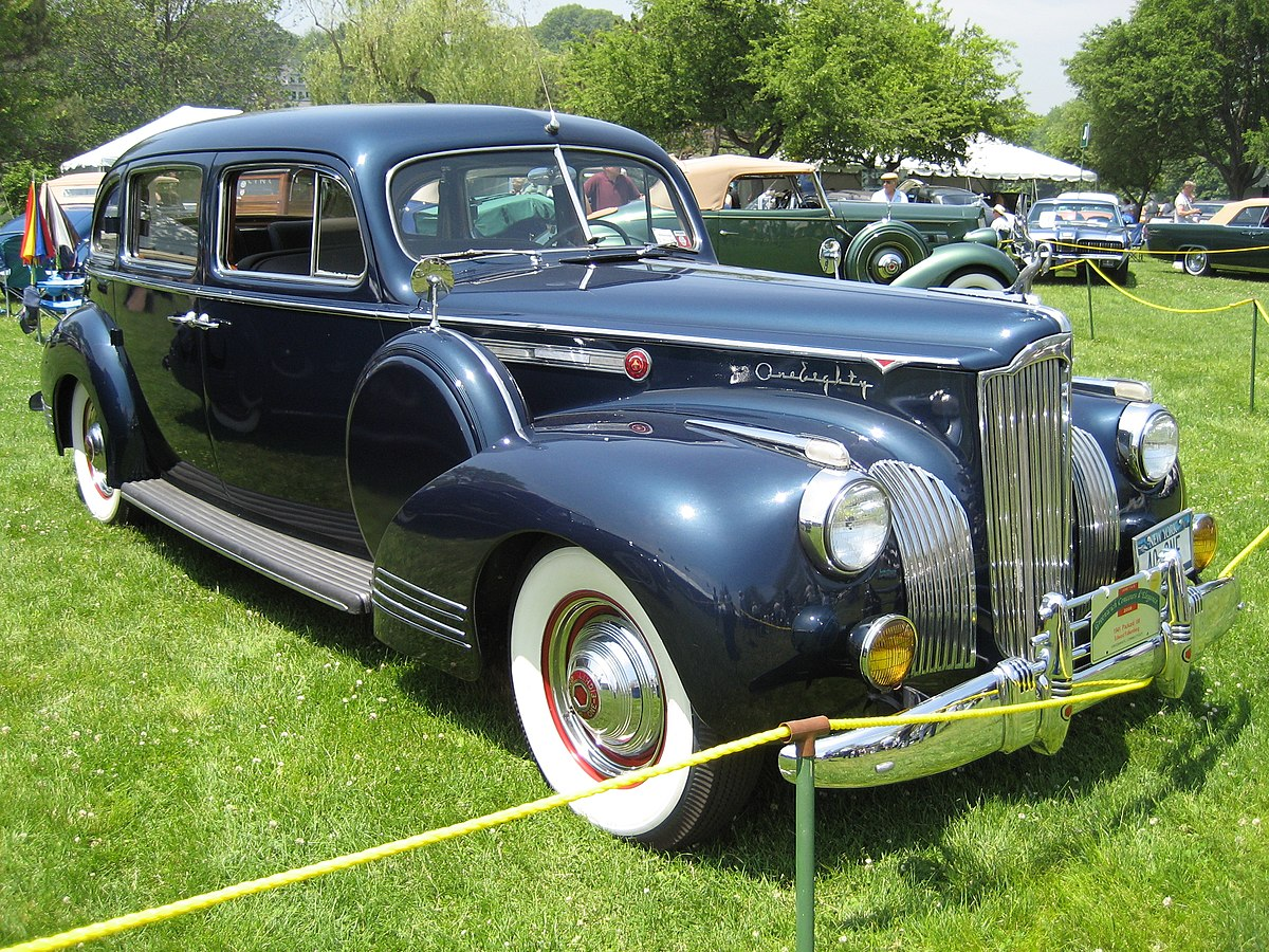 Packard Super  Touring Sedan