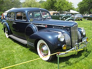 Packard 180 - 1941 Packard 180 touring sedan