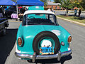 1956 Nash Metropolitan hardtop at 2015 MD-MVA show 2of2.jpg
