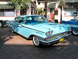 Mercury Park Lane - 1959 Mercury Park Lane 2-Door Hardtop Cruiser