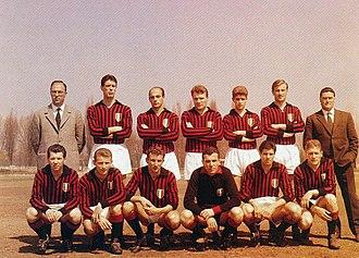 1961–62 Serie A - 1961–62 A.C. Milan team