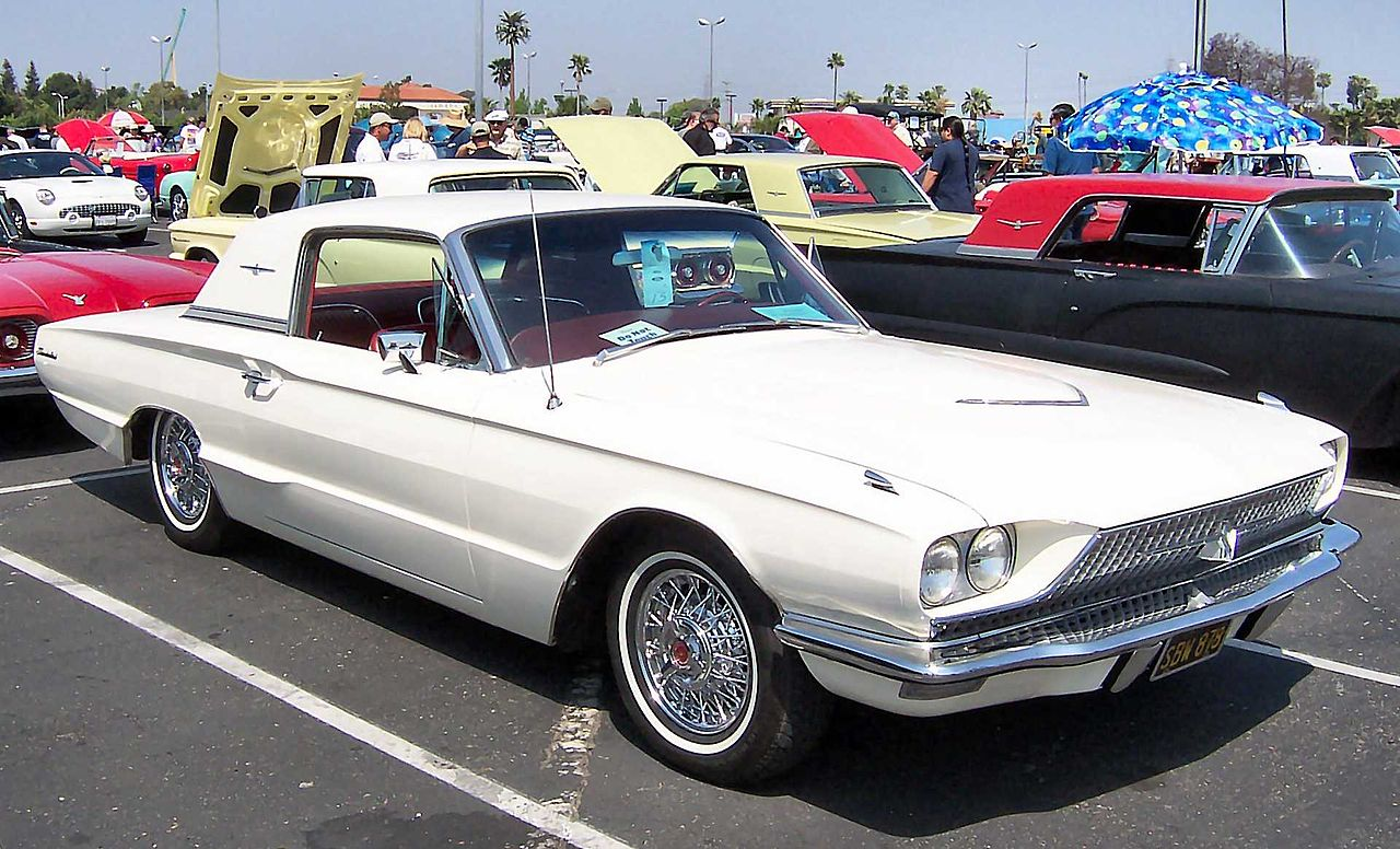 file 1966 ford thunderbird hardtop wikimedia. Black Bedroom Furniture Sets. Home Design Ideas