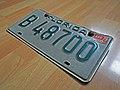 1977 Florida license plate B 48700.jpg
