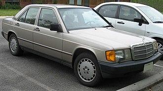 Mercedes-Benz W201 - 1987 Mercedes-Benz 190 E 2.3 (US)