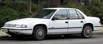 Chevrolet Lumina - 1991-1994 Chevrolet Lumina Sedan