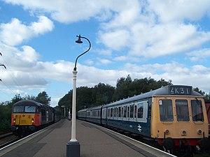 British Rail Class 117 - Image: 1 CLASS 117 DMU