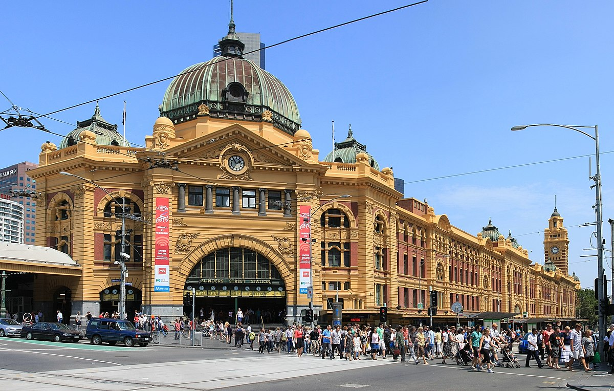 flinders street railway station wikipedia. Black Bedroom Furniture Sets. Home Design Ideas