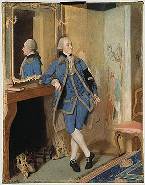 John Stuart, 1st Marquess of Bute - Portrait of Lord Mount Stuart at age 19 by Jean-Étienne Liotard, 1763.