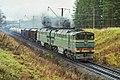 2ТЭ116-163, Russia, Moscow region, Volokolamsk - Blagoveshchenskoye stretch (Trainpix 209413).jpg
