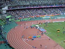 Лёгкая атлетика Википедия Чемпионат мира по лёгкой атлетике 2003 Стадион Стад де Франс