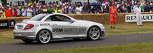 Mercedes-Benz SLK55 AMG, the 2006 DTM safety c...