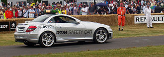 Safety car - Mercedes-Benz SLK pace car of the Deutsche Tourenwagen Masters at the Goodwood Festival of Speed.
