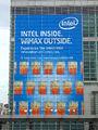 2008Computex Intel WiMAX AD at Taipei 101.jpg