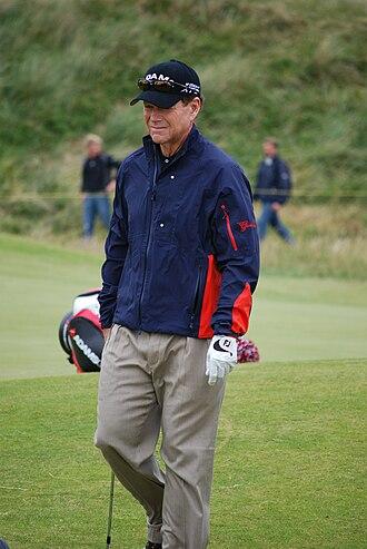 Tom Watson (golfer) - Watson during 2008 Open Championship
