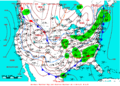 2009-02-28 Surface Weather Map NOAA.png