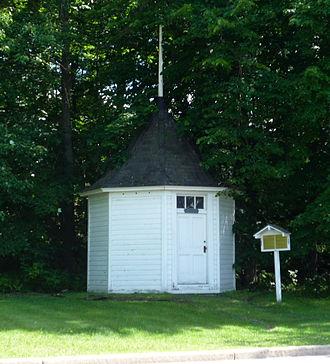 Chippewa Falls, Wisconsin - The original Spring House.