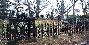 Scots Charitable Society of Boston - Lot of the Scots Charitable Society, Mount Auburn Cemetery (2009 photo)