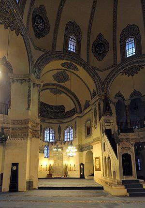 Little Hagia Sophia - Image: 20101222 interior 1 Kucuk Ayasofya Mosque Istanbul Turkey