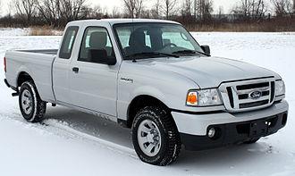 Ford Ranger (North America) - Image: 2011 Ford Ranger XLT NHTSA