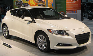 2011 Honda CR-Z photographed at the 2010 Washi...