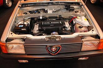 Alfa Romeo Boxer engine - Engine of Alfa Romeo Arna 1.5 Ti.