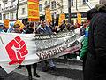 2013-02-16 - Wien - Demo Gleiche Rechte für alle (Refugee-Solidaritätsdemo) - Linkswende-Transparent.jpg