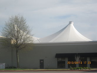 Fabric structure - Image: 2013 04 13 eastgate 004