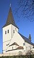 2013 Karwina, Frysztat, Kościół Podwyższenia Krzyża Świętego 03.jpg