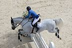 2013 Longines Global Champions - Lausanne - 14-09-2013 - Gerco Schröder et Castelino van de Helle 2.jpg