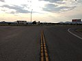 2014-07-17 18 27 51 View north at the north end of Nevada State Route 318 at the junction with U.S. Route 6 in Lund Junction, Nevada.JPG