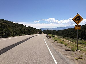 Loneliest Road In America Map.Loneliest Road In America Travel Guide At Wikivoyage