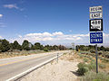2014-08-09 14 32 38 First reassurance sign along eastbound Nevada State Route 488 (Lehman Caves Road) just east of Great Basin National Park, Nevada.JPG