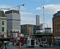 2015 London-Woolwich, Cannon Square - Crossrail development 08.JPG