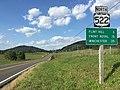 2016-09-06 16 48 51 View north along U.S. Route 522 (Zachary Taylor Highway) at U.S. Route 211 (Lee Highway) in Massies Corner, Rappahannock County, Virginia.jpg