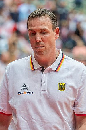 Chris Fleming (basketball) - Fleming with Germany in 2016