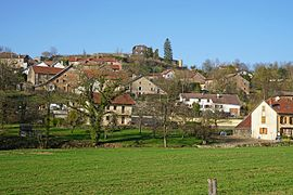 A general view of Granges-le-Bourg