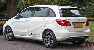 Mercedes-Benz B-Class - Production Mercedes-Benz B-Class Electric Drive