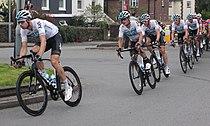 2018 Tour of Britain stage 2 173 Lucasz Wisniowski and Team Sky.JPG