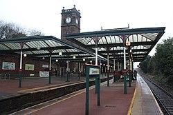 2018 at Ulverston station - platform 3.JPG