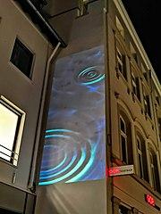 Das Wasser; Lichtskulpturen Beethoven 2020 (Bonn)