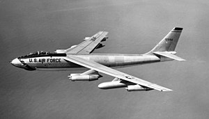 908th Expeditionary Air Refueling Squadron - 22d Bombardment Wing Boeing B-47E Stratojet