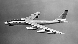 22nd Air Refueling Wing - A B-47E Stratojet (51-2394) of the 22d BW, 1960.