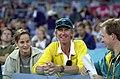 231000 - Athletics Australian head coach Chris Nunn watches - 3b - 2000 Sydney event photo.jpg