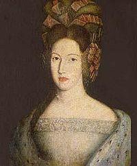 D. Maria Sofia, rainha de Portugal.