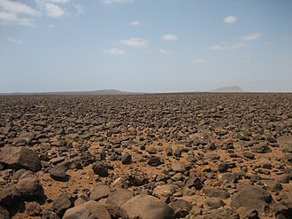 Boa Vista, Cape Verde - Landscape in the centre of Boa Vista