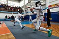 2nd Leonidas Pirgos Fencing Tournament. Lunge by Asterios Tsokas.jpg