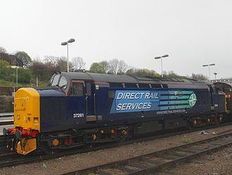 Carlisle Kingmoor TMD - Image: 37261 Sheffield 1