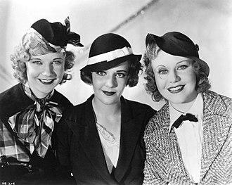 Una Merkel - Una Merkel, Ruby Keeler and Ginger Rogers in 42nd Street (1933)