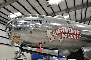 Pima Air & Space Museum - Boeing B-29 Superfortress 44-70016